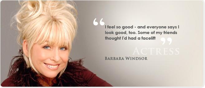 Barbara Windsor CACI